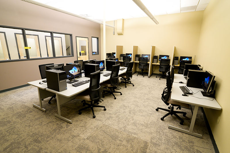 Helena College Computer Lab